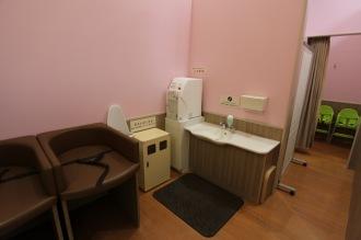改装後も存続したおむつ替えシート・授乳室