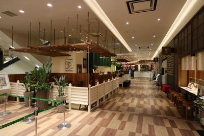 「ハオツァイ」と周辺の店舗