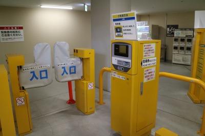 グランツリー武蔵小杉地下駐輪場のゲート
