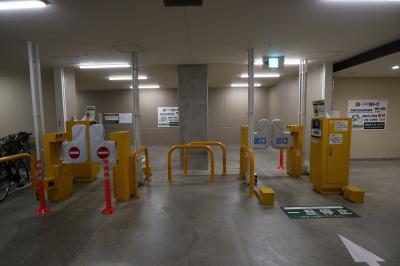 多くの方が利用する駐輪場ゲート