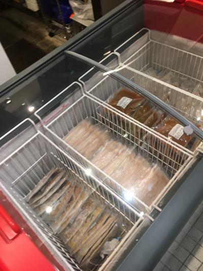 冷凍食品の販売