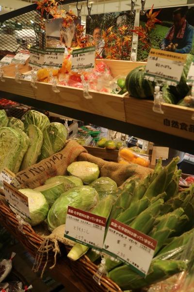 農園直送の野菜