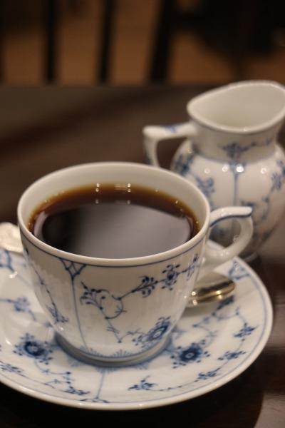 「椿屋カフェ」のサイフォンコーヒー
