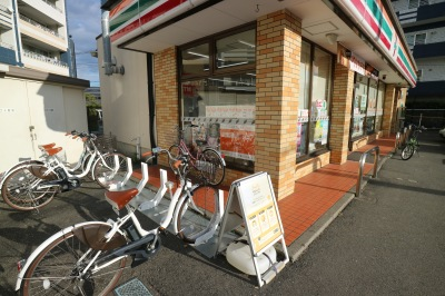 セブンイレブン川崎中原市ノ坪店のハローサイクリング