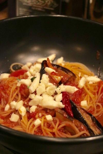 「すぱじろう」のスパゲッティ