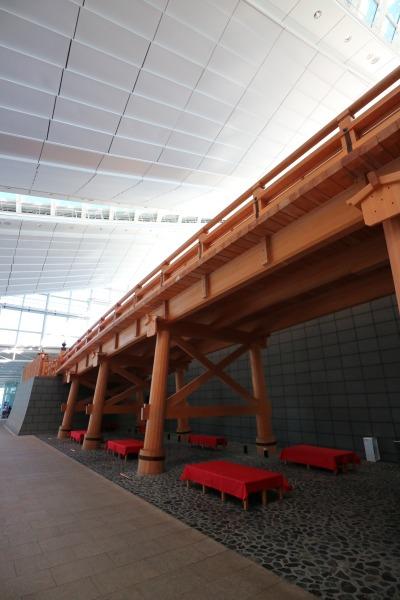 総檜造りの「はねだ日本橋」