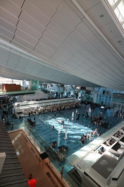 「はねだ日本橋」から見た国際線ターミナル