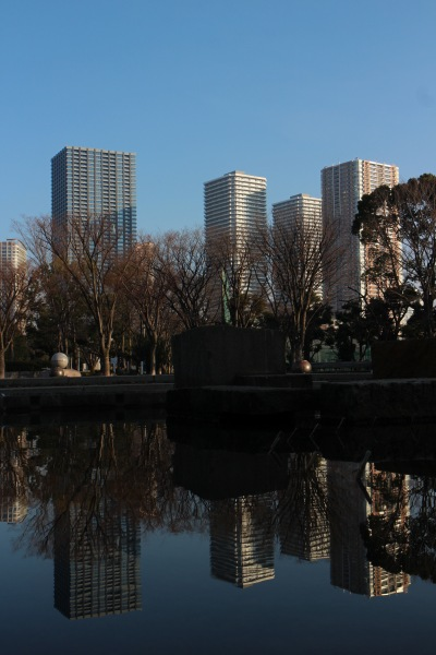 存在感の強いシティタワー武蔵小杉