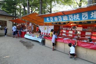 丸子山王日枝神社の露店