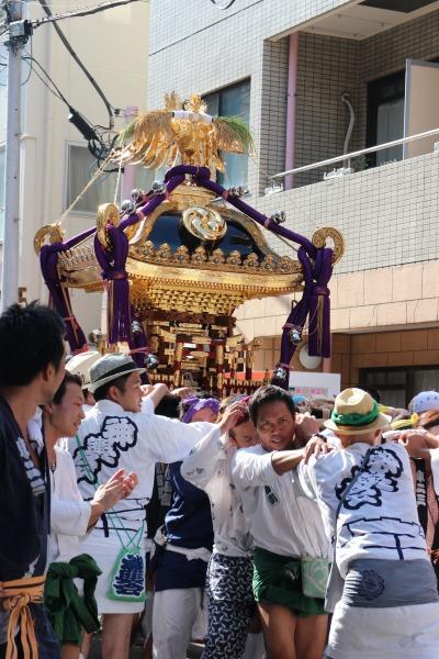 2015年の大神輿渡御