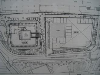 武蔵小杉駅南口地区東街区の図面