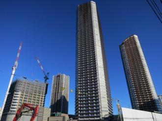 パークシティ武蔵小杉3棟のタワー群