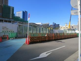 武蔵小杉駅周辺自転車等駐車場(第5施設)の入口