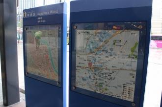 武蔵小杉駅周辺地図