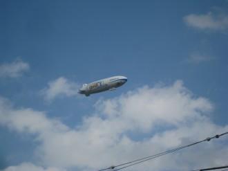 空飛ぶ飛行船
