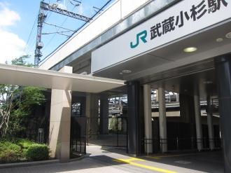 新幹線高架下保育所の建設予定地