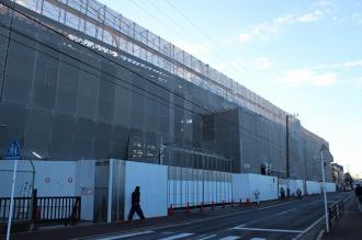 法政二中・高の新校舎建設工事