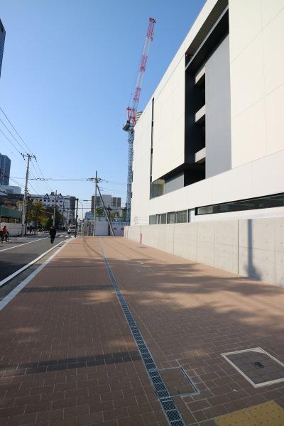 周辺の歩道整備