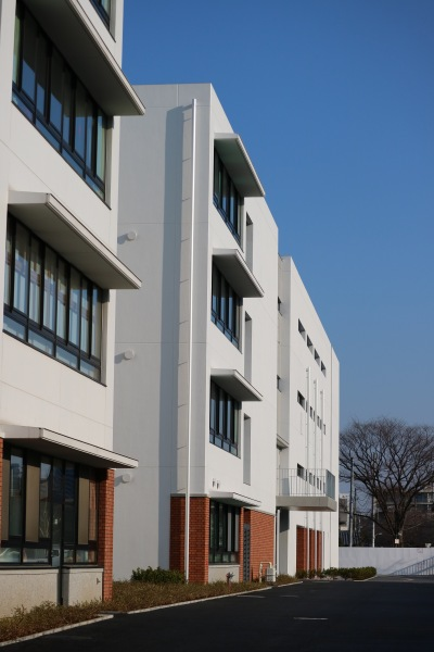 法政大学第二中学校・高等学校の新校舎
