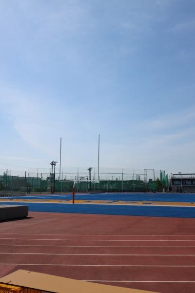 法政大学のアメリカンフットボール場・陸上競技場