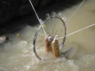 発電機の水車