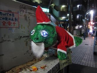 河童ねぶた・クリスマス仕様