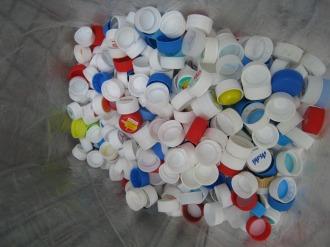 法政通り商店街のペットボトルキャップ収集