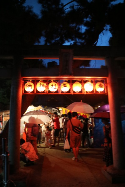 市ノ坪神社のお祭り