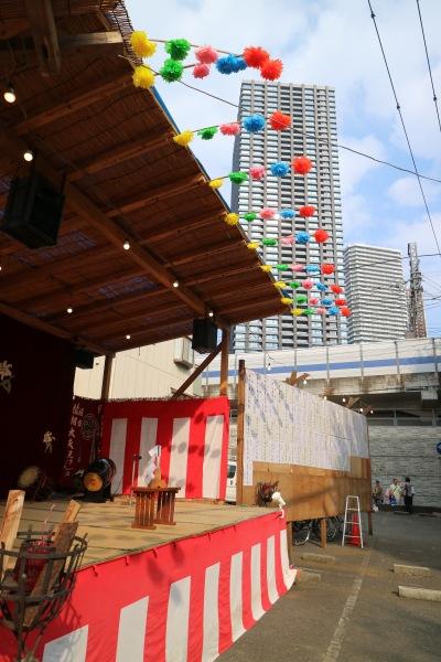 演芸大会の舞台