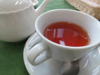 モーニングセットの紅茶