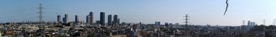 井田伊勢台公園からの風景