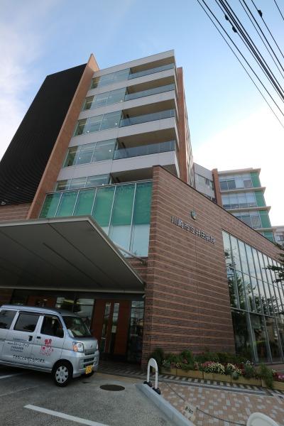井田病院の新棟