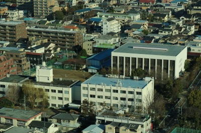 日本医科大学新丸子キャンパスの校舎