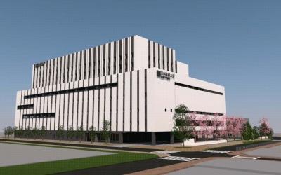 日本医科大学武蔵小杉病院のイメージパース