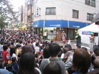 ゴーオンジャーショー(2008年)の観客