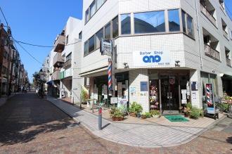 iDAiモールの「小野理容店」