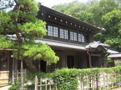 日本民家園の「旧原家住宅」