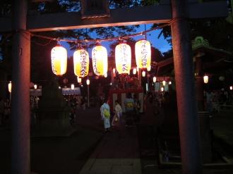 今井神社の入口