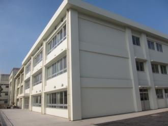 今井小学校の新校舎