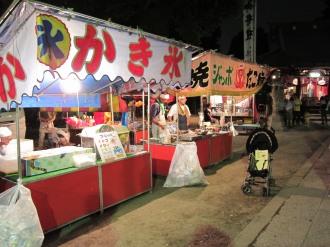 今井神社の模擬店