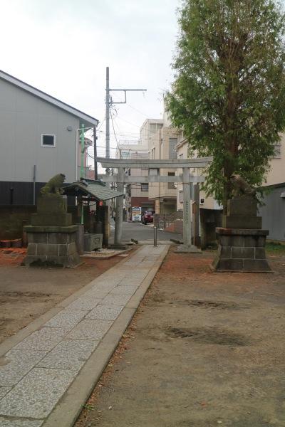 復旧した今井神社