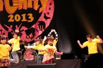 地元から昨年度初登場のダンスグループ「KSG48」
