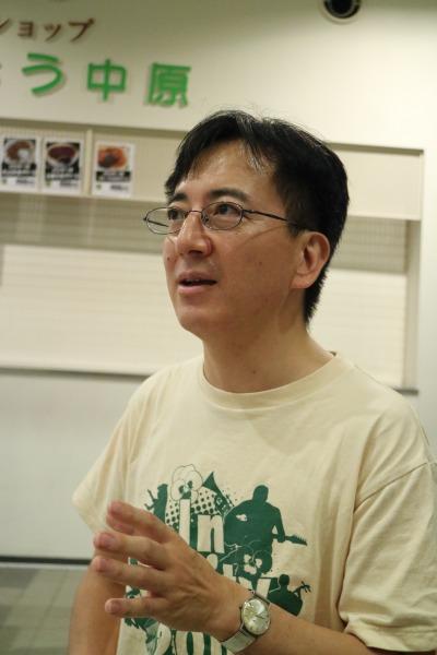 実行委員長の小川さん