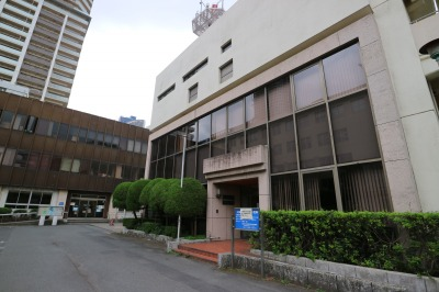 中原区役所敷地内の旧「川崎市中原休日急患診療所」