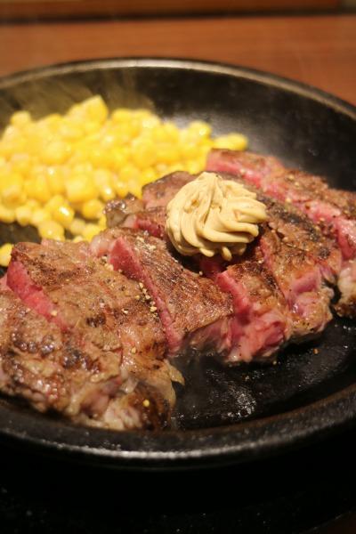 「いきなり!ステーキ」の「CABワイルドステーキ」