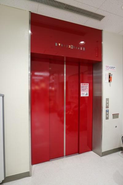 リニューアル後のエレベーター