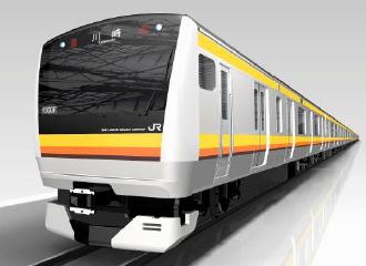 南武線新型車両のイメージパース