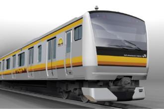 南武線新型車両「E233系」のイメージパース