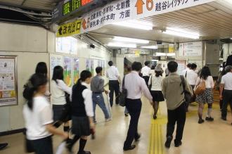 JR南浦和駅の連絡通路