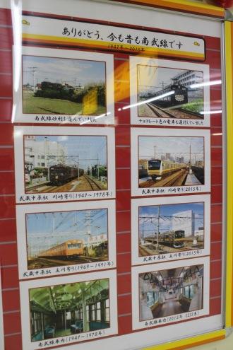 1947年から2015年までの南武線車両紹介